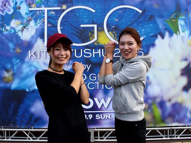 TGC スポーターの2人