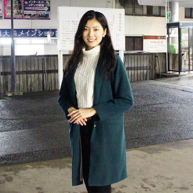 福岡大学ミスコンファイナリスト 松本美咲ちゃん