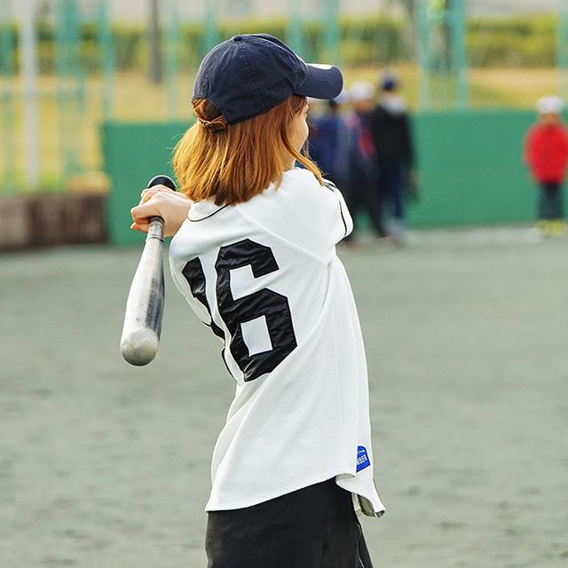 桑原 野球女子